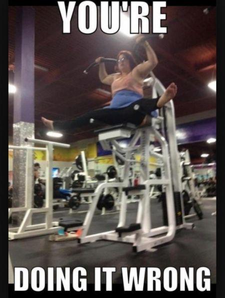 gym fail